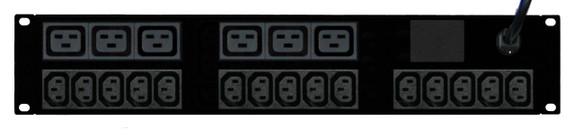 Power Strip: 15+6x Outlets | IEC C13+C19 | 19'' 2RU Horizontal