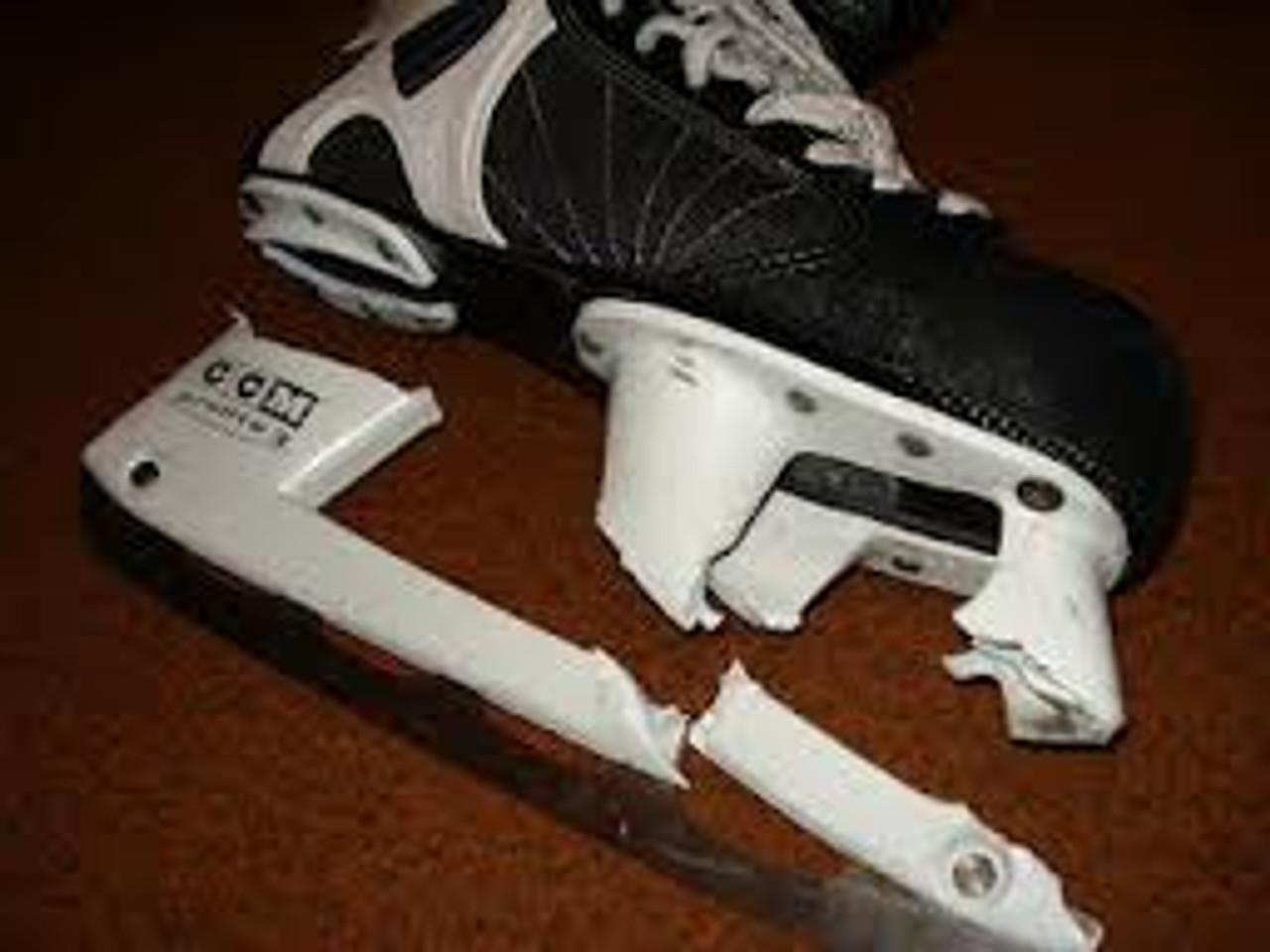 Skate Holder Installation (dissimilar holder) We do not do GRAF