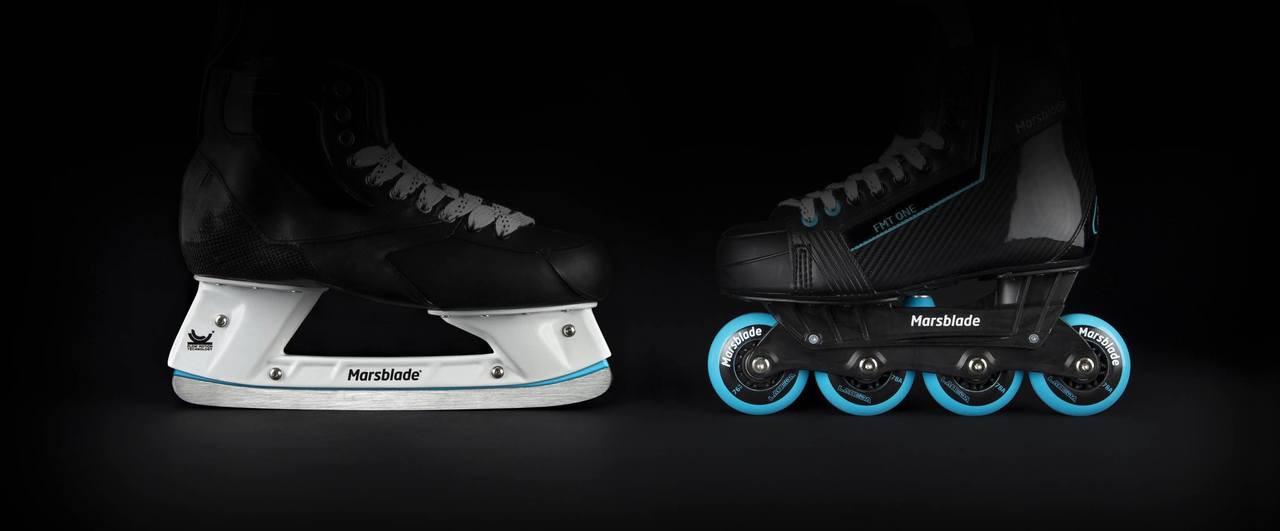 Marsblade Skate Holder Installation (dissimilar holder)