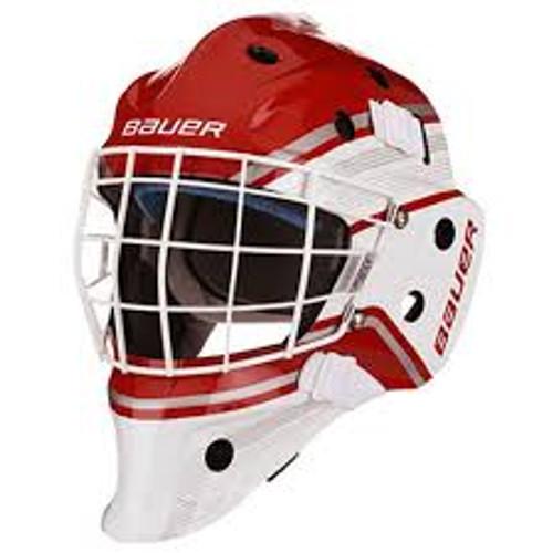Bauer NME 5 Jr helmet red/white