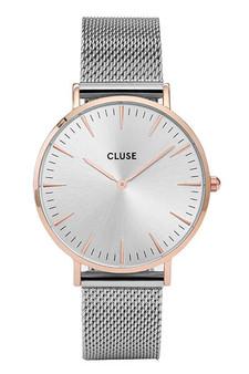 Cluse La Boheme Mesh Rose Gold/Silver Womens Mesh Watch CW0101201006