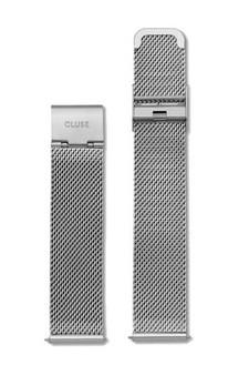 Cluse Minuit Mesh Silver Strap CLS345