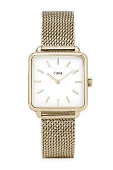Cluse La Garconne Gold Mesh Watch CL6002