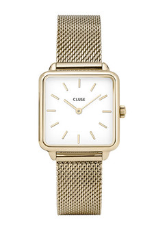Cluse La Garconne Gold Mesh Watch CW0101207002