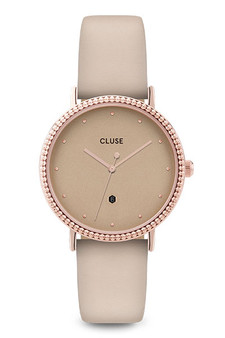 Cluse Le Couronnement Rose Gold/Gold Dust Watch CL63006
