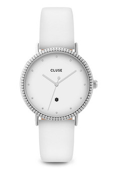 Cluse Le Couronnement Silver White/White Watch CL63003