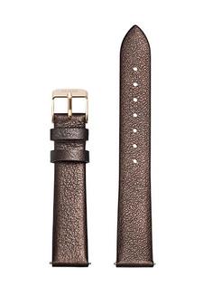 Cluse 16mm Watch Strap Chocolate Brown Metallic/Gold CS1408101051