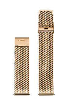 Cluse 20mm Watch Strap Mesh Gold CS1401101062