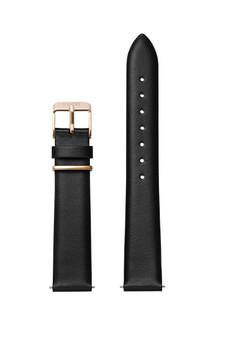 Cluse 16mm Watch Strap Black/Rose Gold Loop CLS603