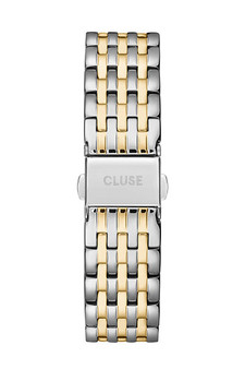 Cluse 18mm Watch Strap Silver Gold Two Tone Link CS1401101081