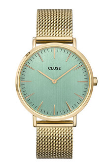 Cluse La Boheme Mesh Gold/White Watch CW0101201027
