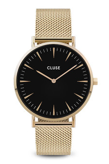 Cluse Boho Chic Mesh Gold/Black Watch CW0101201014