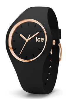 Ice-Watch Ice Glam Black Rose Gold Small Watch 000979