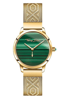 Thomas Sabo Women's Watch Garden Spirit Malachite Gold TWA0365