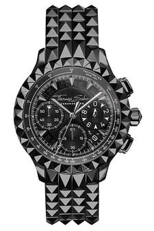 Thomas Sabo Men's Watch Rebel At Heart Chronograph Black TWA0359