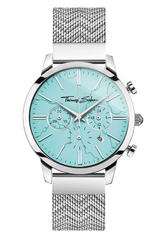 Thomas Sabo Men's Watch Chronograph Arizona Spirit Turquoise TWA0366