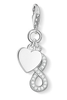 Thomas Sabo Charm Pendant Heart With Infinity CC1248