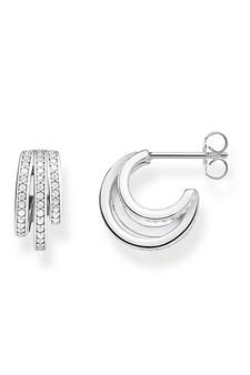 Thomas Sabo Hoop Earrings Silver Rings TCR652