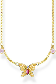 Thomas Sabo Necklace Butterfly Gold TKE1951Y