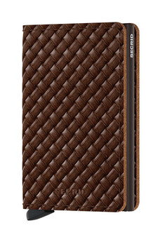 Secrid Slimwallet Basket Brown Wallet SC8022
