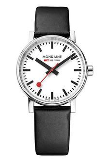 Mondaine Official Swiss Railways evo2 35mm Watch MSE.35110.LB