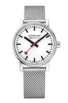 Mondaine Official Swiss Railways evo2 35mm Watch MSE.35110.SM