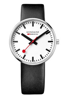 Mondaine Official Swiss Railways Giant BackLight 42mm Watch MSX.4211B.LB