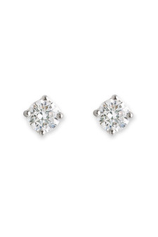 Bianc CZ Claw Set Stud Earrings 10100311