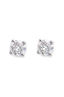 Bianc CZ Medium Claw Set Stud Earrings 10100341
