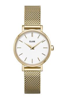Cluse La Boheme Petite Mesh Gold/White Watch CW0101211001