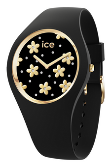 Ice Flower Gold/Black 40mm Medium Watch 16668