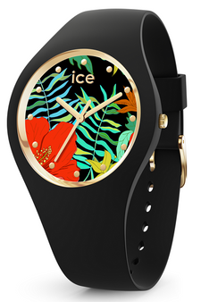 Ice Flower Jungle Small 3H Watch 16656