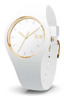 Ice Glam Gold/White 34mm Small Watch 981