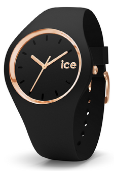 Ice Glam Rose Gold/Black 40mm Medium Watch 980