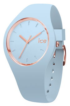 Ice Glam Pastel Rose Gold/Blue 40mm Medium Watch 1067