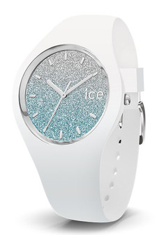 Ice Lo Silver/White 34mm Small Watch 13425