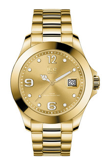Ice Steel Classic Gold Medium 3H Watch 16916