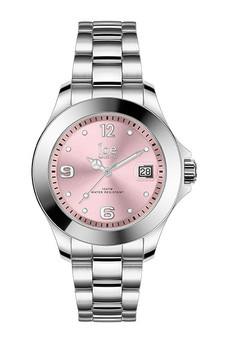Ice Steel Classic Light Pink Sr Small 3H Watch 17320