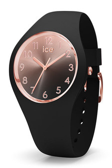 Ice Sunset Rose Gold/Black 34mm Small Watch 15746
