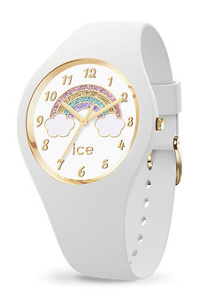 Ice Fantasia Rainbow White Small 3H Watch 17889