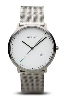 Bering Brushed Silver Watch 11139-004