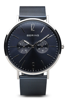 Bering Classic Polished Silver Watch 14240-307