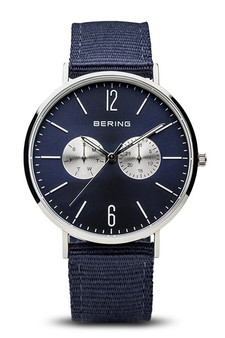 Bering Polished Silver Watch 14240-507