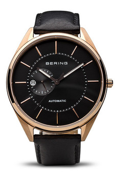 Bering Automatic Polished Gold Watch 16243-462