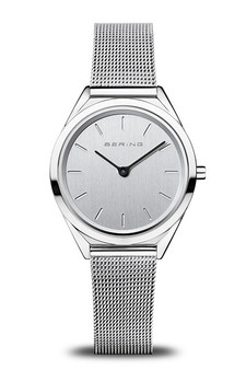 Bering Ultra Slim Polished Silver Watch 17031-000