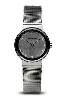 Bering Classic Polished Silver Mesh Watch 10122-000