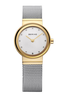 Bering Classic Polished Gold Watch 10122-001