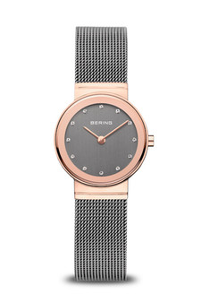 Bering Sale Polished Rose Gold Watch 10126-369