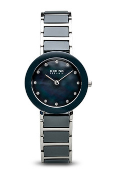 Bering Sale Polished Silver Steel Grey Watch 11429-787