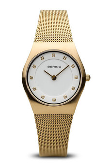 Bering Classic Brushed Gold Watch 11927-334